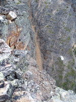 top of gully